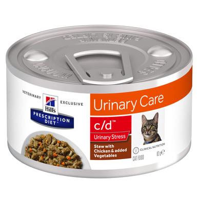 Prescription Diet c/d Multicare Stress Stew kattfoder med kyckling & grönsaker