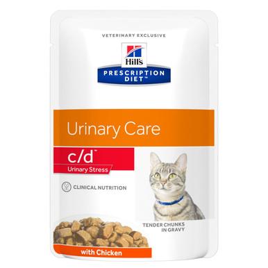 Prescription Diet c/d Urinary Stress våtfoder med kyckling