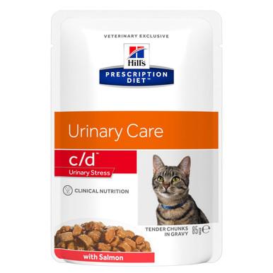 Prescription Diet c/d Urinary Stress kattfoder med lax