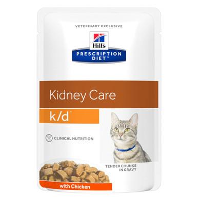 Prescription Diet k/d kattfoder Chicken Pouch