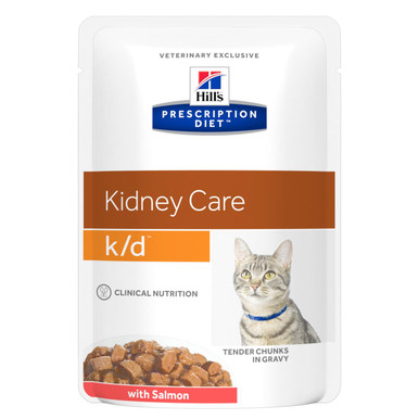 Prescription Diet k/d kattfoder Salmon Pouch