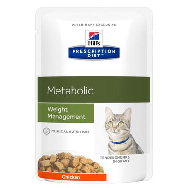 Prescription Diet Metabolic våtfoder med kyckling