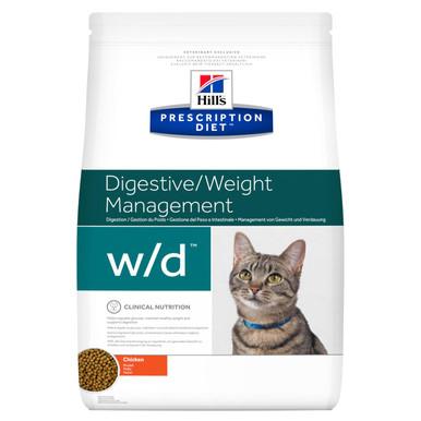 Prescription Diet w/d kattfoder med kyckling