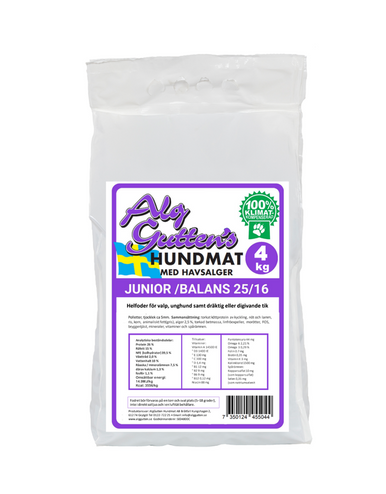 Junior Balans 25/16 Hundfoder