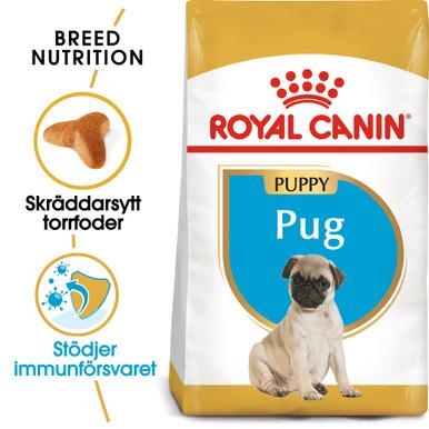Pug Junior Torrfoder för hundvalp
