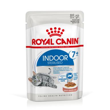 Indoor Ageing 7+ Gravy Mature Våtfoder för katt