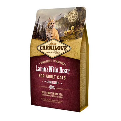Lamb & Wild Boar for Adult Cats