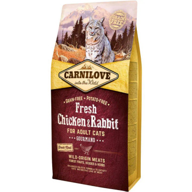 Cat Fresh Chicken & Rabbit - Gourmand