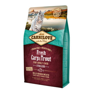 Cat Fresh Carp & Trout - for Sterilised