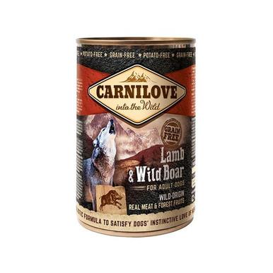 Wild Meat Lamb & Wildboar, Våtfoder Hund