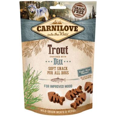 Dog Semi Moist Snack Trout & Dill
