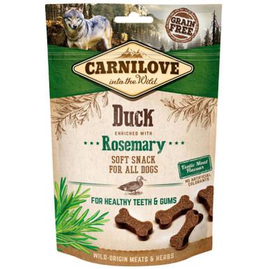 Dog Semi Moist Snack Duck & Rosemary