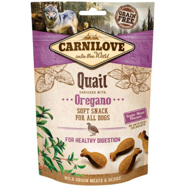 Dog Semi Moist Snack Quail & Oregano