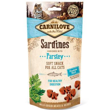 Cat Semi Moist Snack Sardine & Parsley