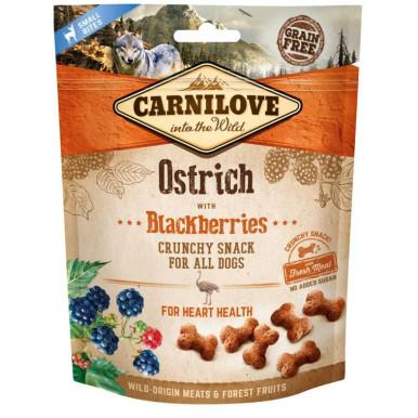 Dog Crunchy Snack Ostrich & Blackberries