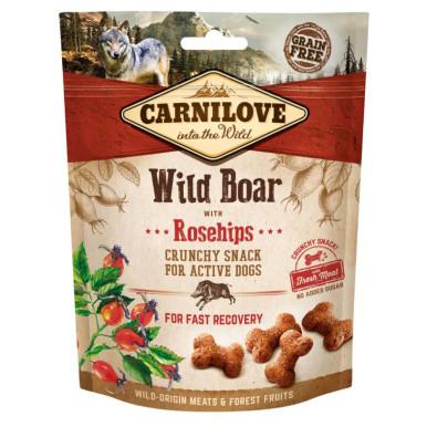 Dog Crunchy Snack Wild Boar & Rosehips