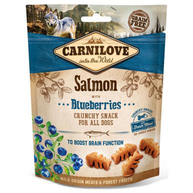 Dog Crunchy Snack Salmon & Blueberries