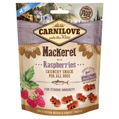 Dog Crunchy Snack Mackerel & Raspberries