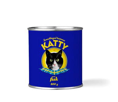 Våtfoder Fisk för Katt