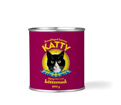 Våtfoder Kött för Katt