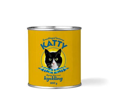 Våtfoder Kyckling för Katt