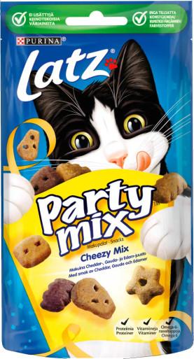 Kattgodis Party Mix Cheezy