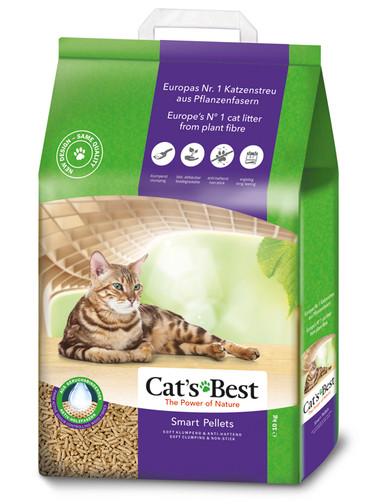 Smart kattströ för långhårig katt