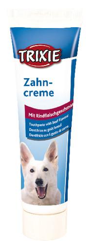Tandkräm med köttsmak för hund