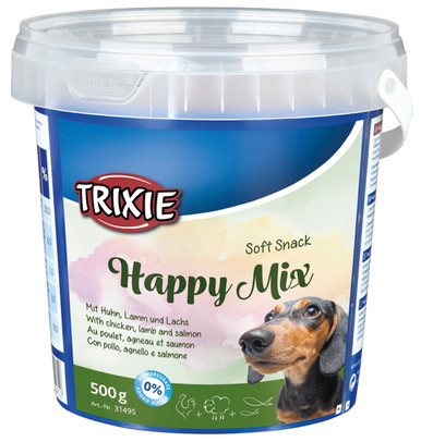 Soft Snack Happy godismix för hund