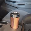 Mixed Hardwood Travel Mug