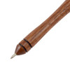 Modern Ballpoint Quill Pen with Natural Feather