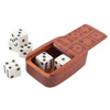 Wooden Dice Caddy