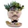 Victorian Lovelies Planter - Dapper Dan-delion