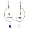 Mini Mobiles Kinetic Sculpture Inspired Earrings