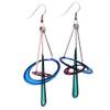 Kinetic Sculpture Inspired Earrings: Atomic Dangles