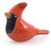 Decorative Clay Bird Figurine