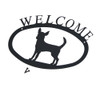 Iron Welcome Sign: Chihuahua