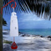 Large 3-Tone Lighthouse Wind Bell