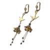 Fairy Flower Earrings : Queen of Hearts