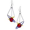 Kinetic Sculpture Inspired Earrings: Cosmos