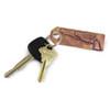 Bronze Keychain Tag: Colt Revolver