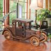 Rumble Seat Roadster Fine Wood Puzzle Sculpture