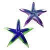 Blown Glass Starfish Paperweight Sculpture