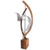 Solar Cycle Bent Wood Sculpture