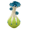 Whimsical Wallie Wall-Mounted Bud Vase in Teal/Green