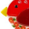 Whimsical Bird Fused Glass Suncatcher