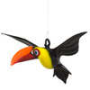 Tropical Toucan Hanging Art Glass Figurine