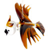 Brown Owl Hanging Art Glass Figurine