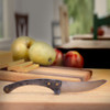Freestanding Forged Iron Cheese Knife