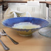 Wild Blackberry Pottery Collection: Wide Serving Bowl